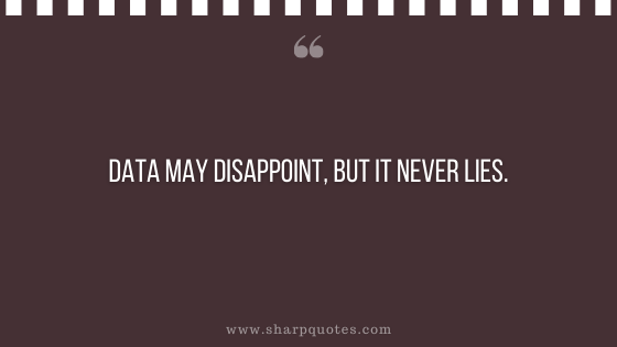 entrepreneur quotes data may disappoint