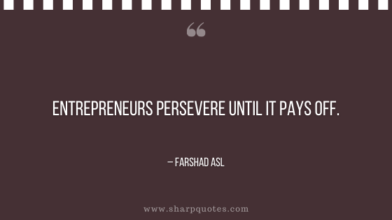 entrepreneur quotes persevere until it pays off