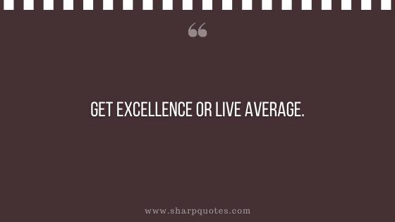 entrepreneur quotes get excellence