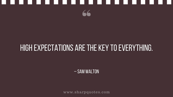 entrepreneur quotes high expectations