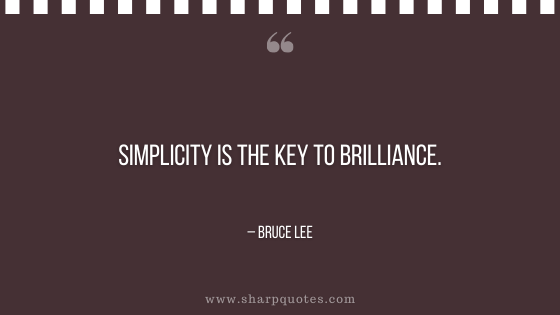 entrepreneur quotes simplicity is the key