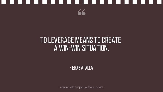 entrepreneur quotes win win situation