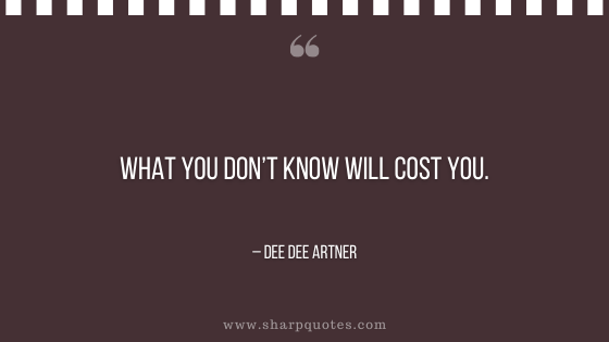 entrepreneur quotes what you don't know