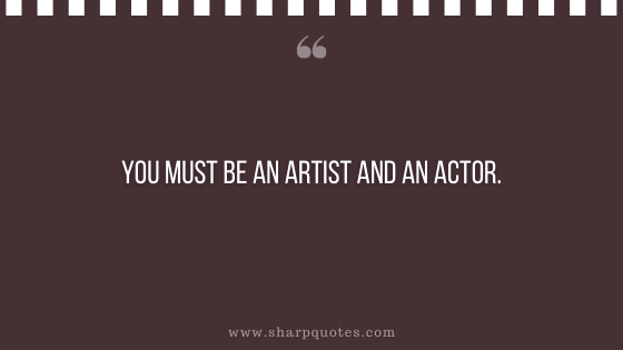 entrepreneur quotes you must be an artist