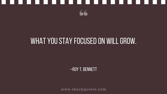 motivational-quotes-what-you-stay-focused-on-will-grow-roy-t-bennett-sharp-quotes