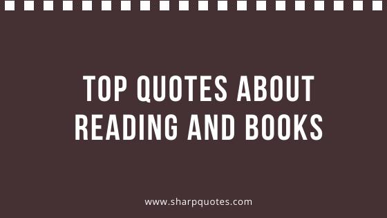 Reading Books Quotes