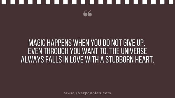 Law of attraction quotes magic happens