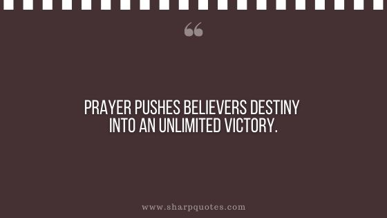 quotes prayer pushes believers