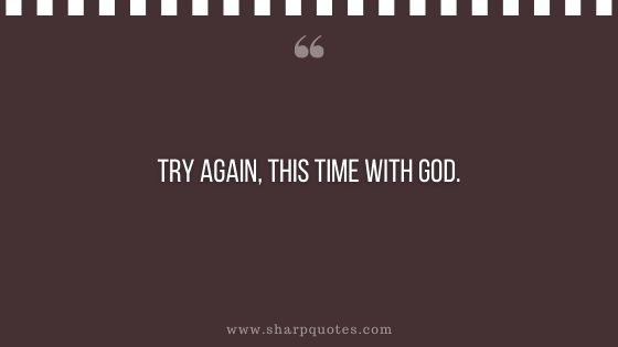 prayer quotes try again