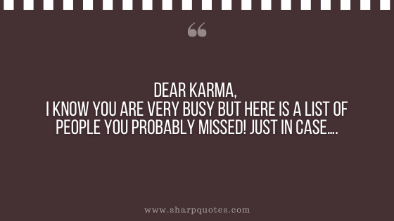 karma quote people sharp quotes