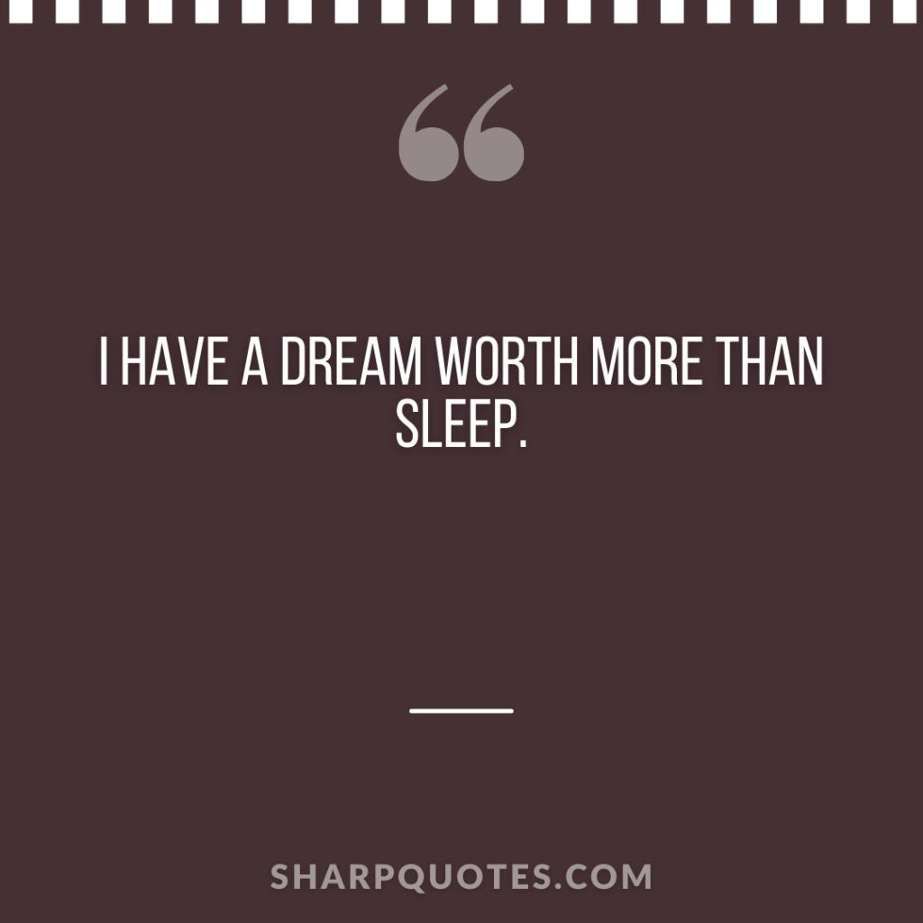 worth sleep millionaire quote sharp quotes