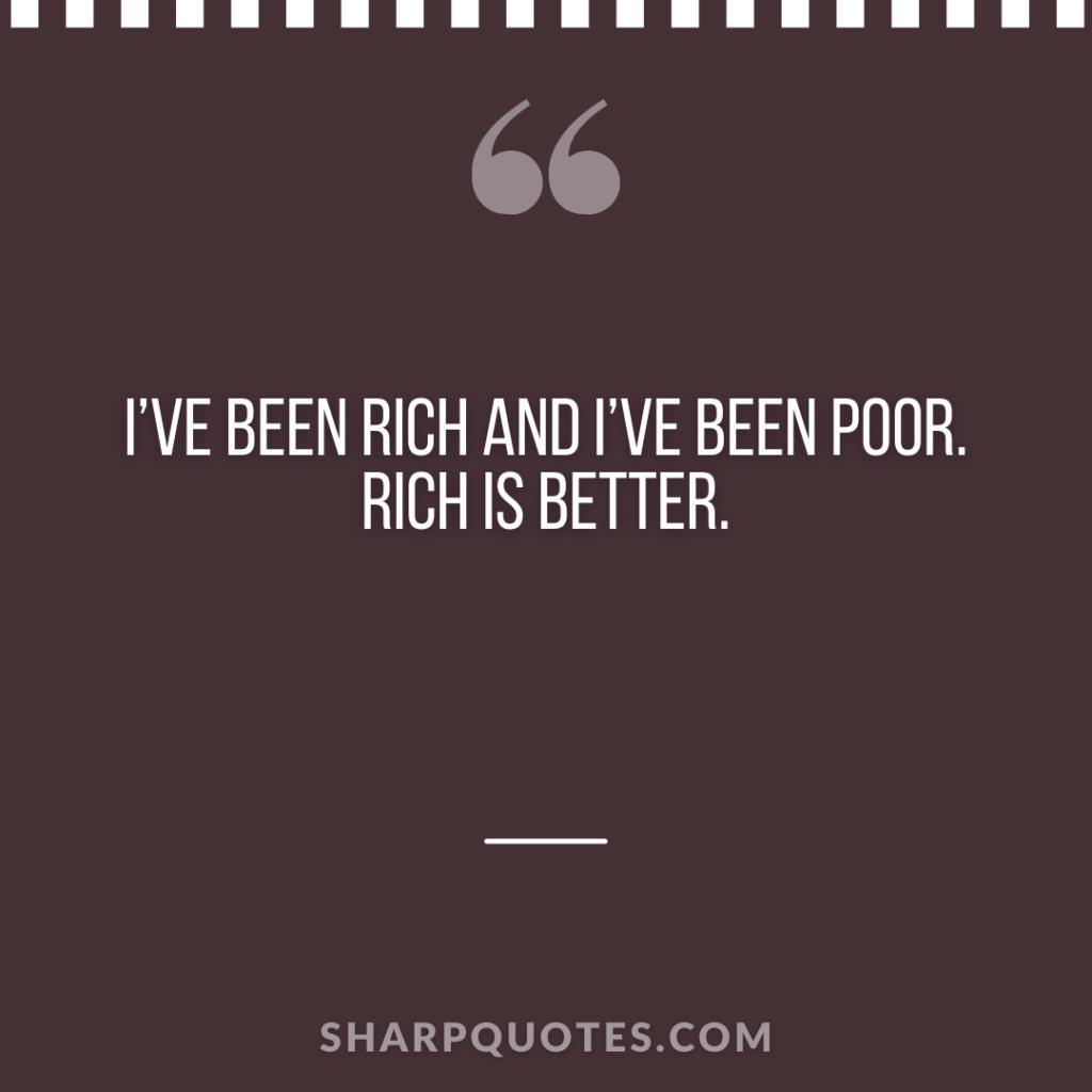 millionaire quote rich poor sharp quotes