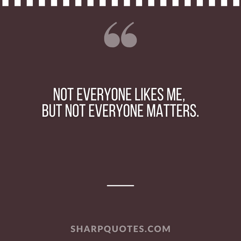 millionaire quote everyone likes matters sharp quotes