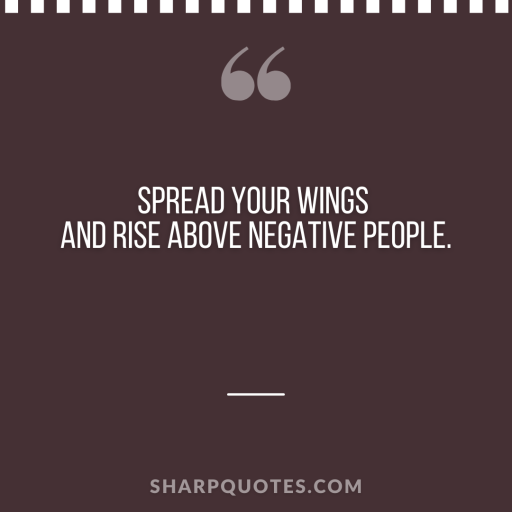 millionaire quote spread wings rise negative people