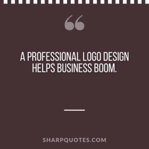 logo design quotes business boom