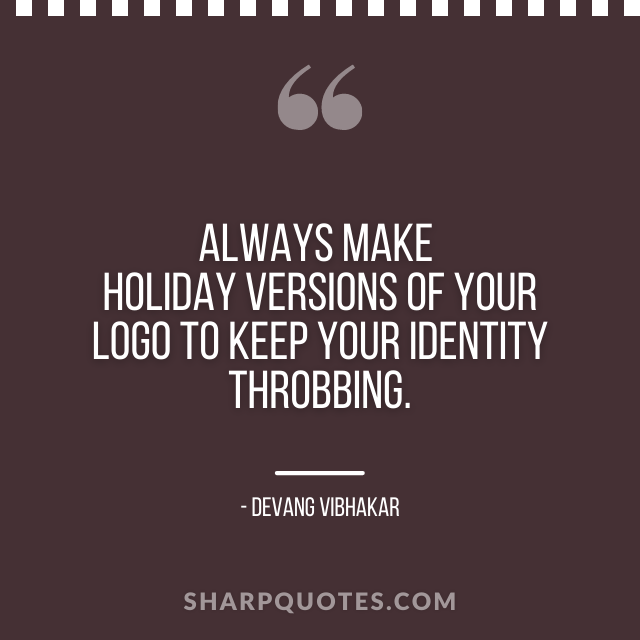 logo design quotes holiday versions