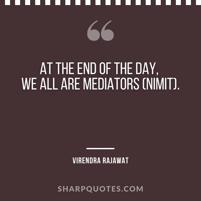 mediators nimit virendra rajawat numerology quote