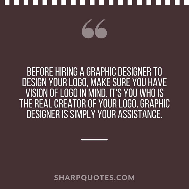 logo design quotes hiring graphic designer