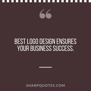 logo design quotes business success