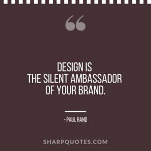 logo design quotes ambassador brand