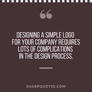 logo design quotes complications process