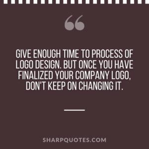 logo design quotes process
