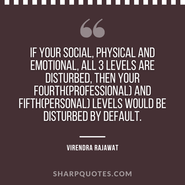 social physical emotional professional quote