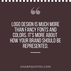 logo design quotes fonts colors brand
