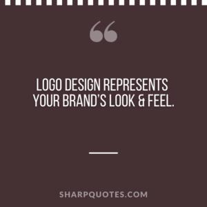 logo design quotes brand look feel