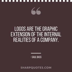 logo design quotes graphic extension saul bass