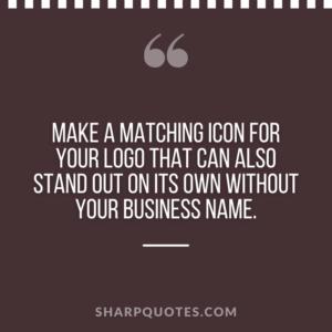 logo design quotes icon business name