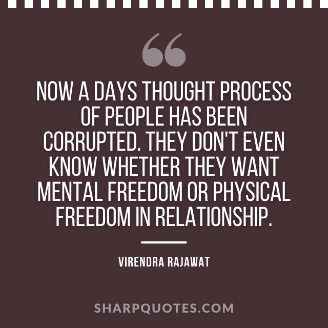 thought process freedom mental relationship