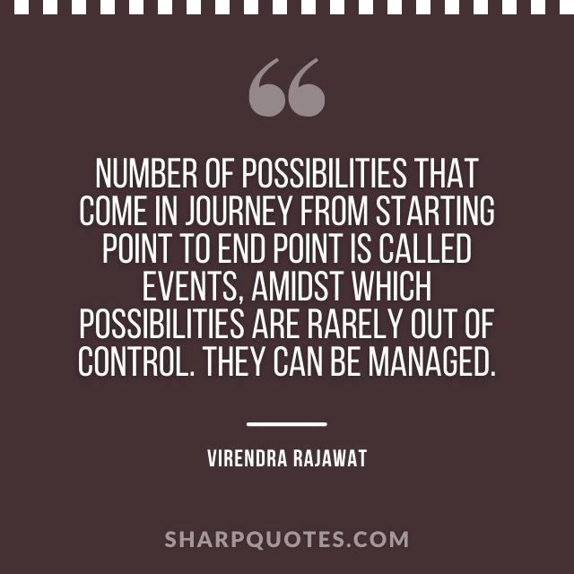 number journey events virendra rajawat