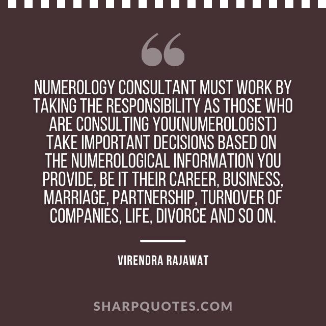 numerology consultant india virendra rajawat