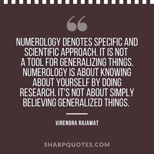 numerology scientific virendra rajawat