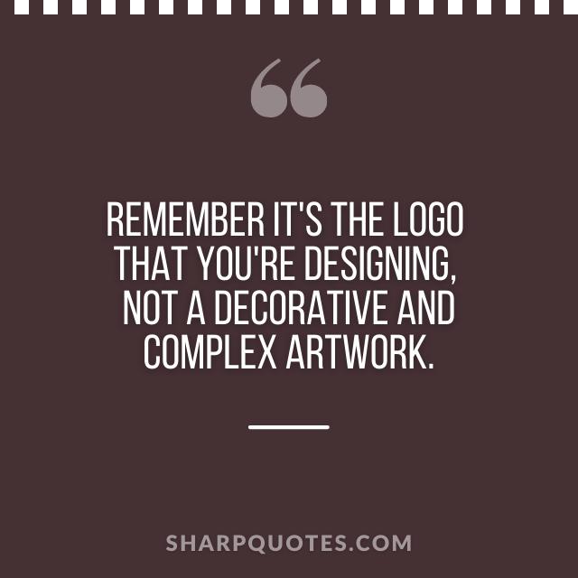 logo design quotes decorative artwork