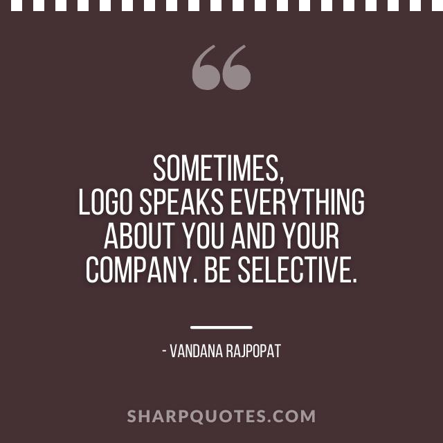 logo design quotes company vandana rajpopat