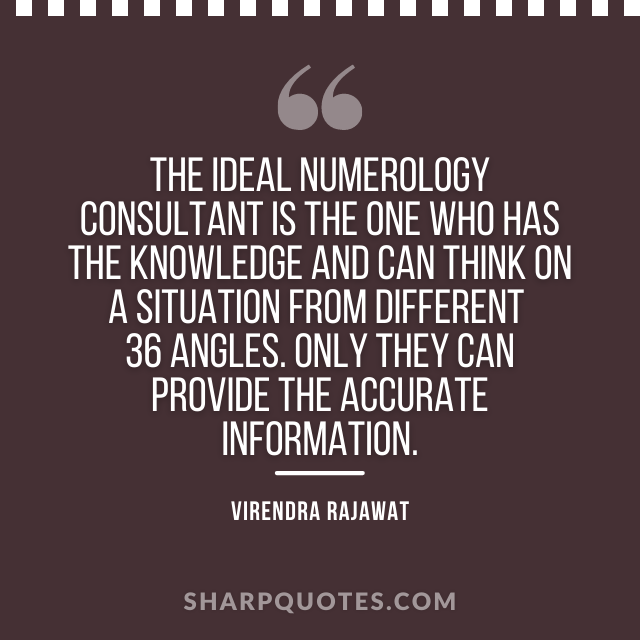 numerology consultant knowldge india virendra rajawat