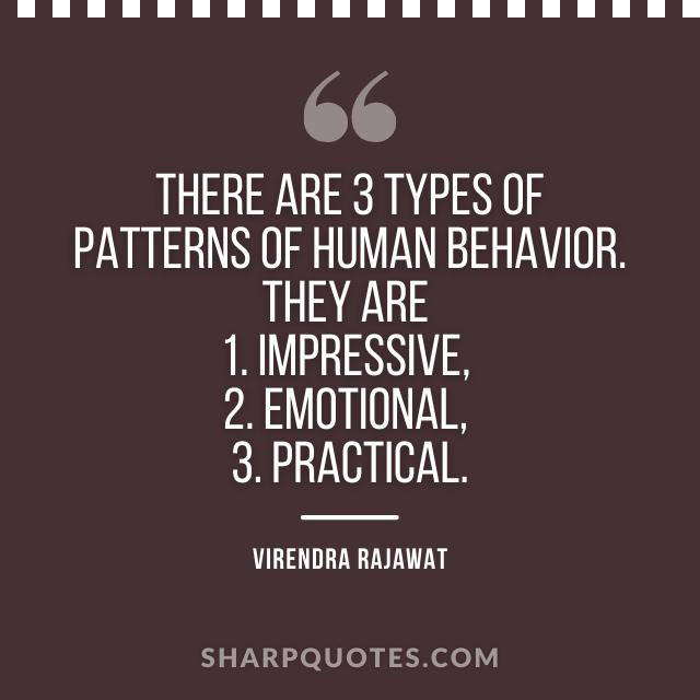 patterns human behavior impressive practical
