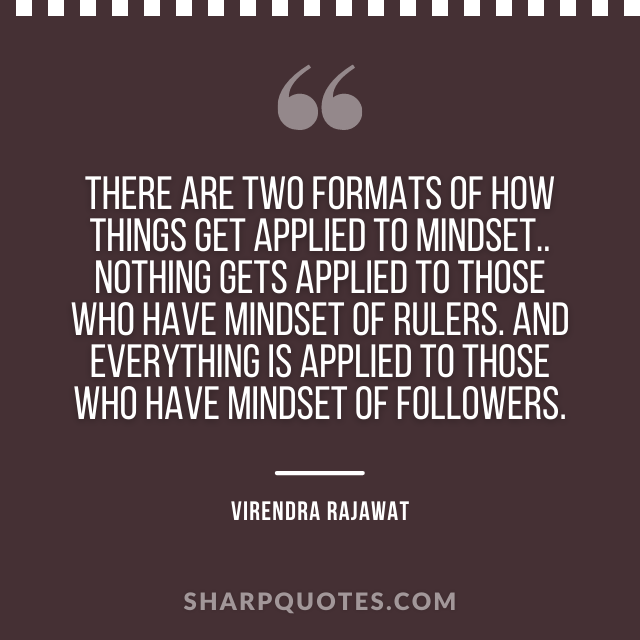 two formats mindset virendra rajawat