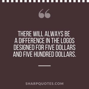 logo design quotes five dollars