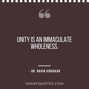 dr navin vibhakar quote on immaculate