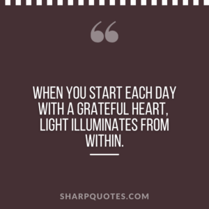 good morning quote start each day