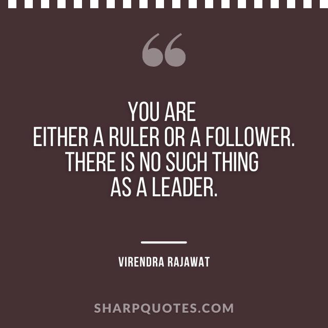 ruler follower leader virendra rajawat numerologist india