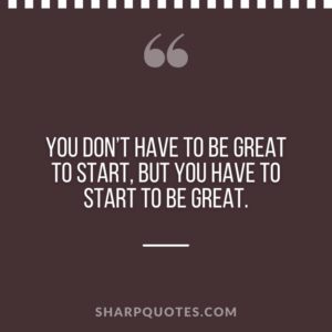 good morning quote great to start