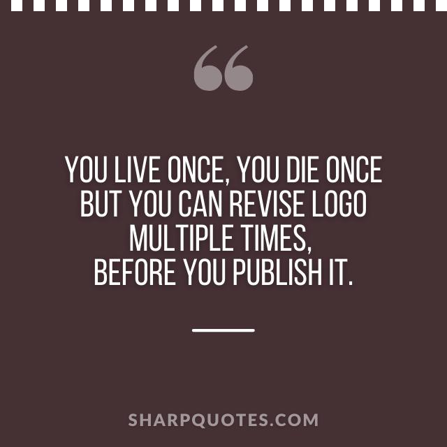 logo design quotes revise logo