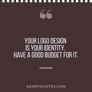 logo design quotes identity budget