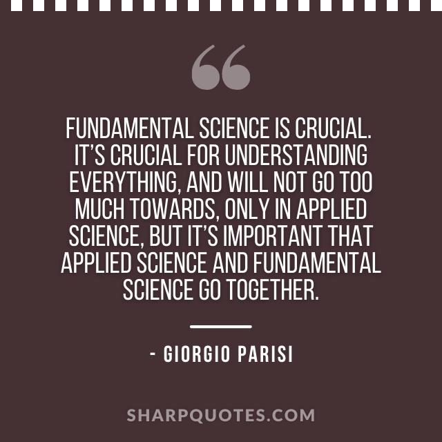 science quotes giorgio