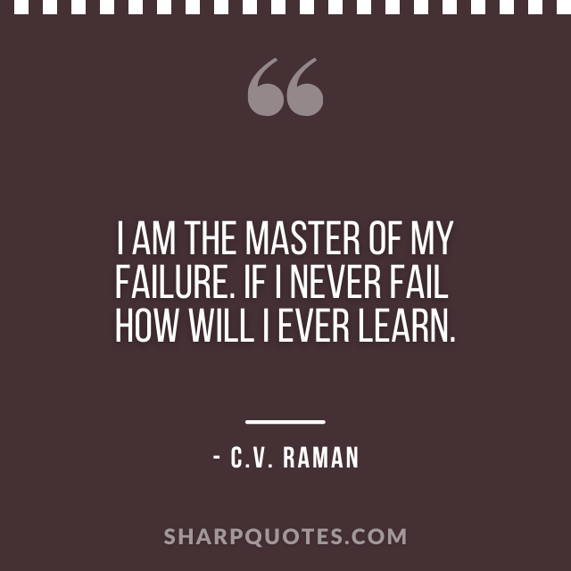 science quotes c v raman