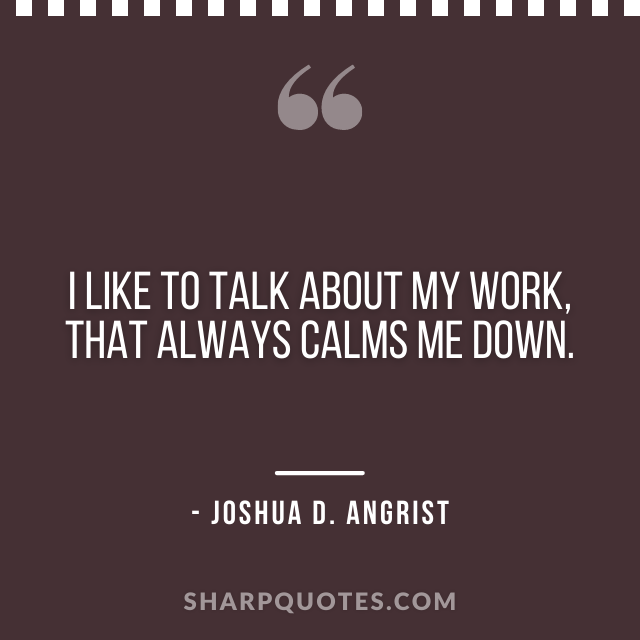 science quotes joshua d angrist